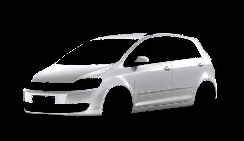 Цвета кузова Golf Plus